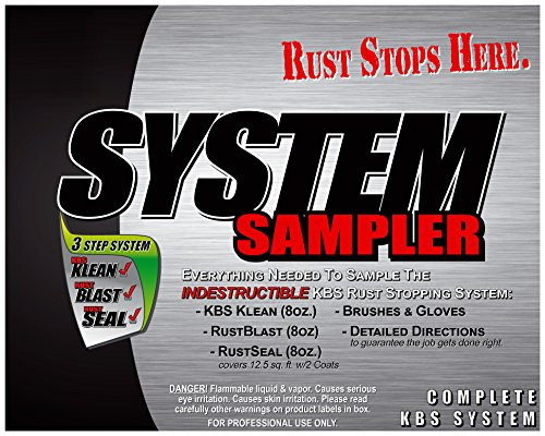 KBS Coatings 50002 Satin Black System Sampler by KBS Coatings (Image #1)