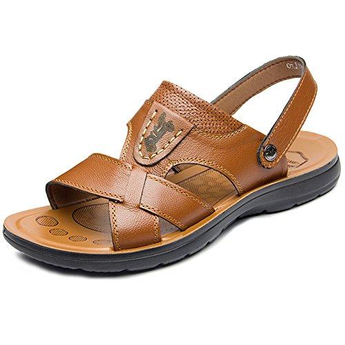 En Hombres Libre Atléticas Al Yellow Aire Caminar Piscina Zapatos Gran Playa De De Zapatillas Los Chanclas del Tamaño Sandalias Abierta De Agua Deslizamiento De Verano SHANLY Punta H1xqawYw