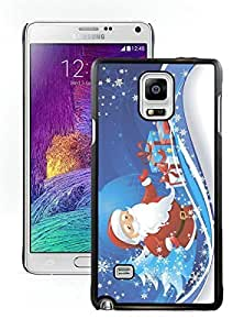 2015 New Style Merry Christmas Black Samsung Galaxy Note 4 Case 36