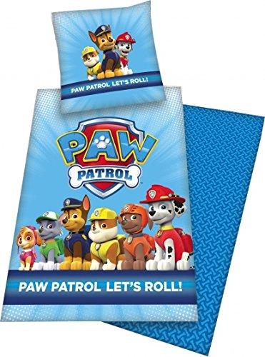 Nickelodeon Paw Patrol Bettdecke 140 x 200 cm blau