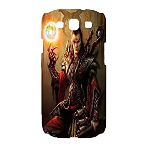 Samsung Galaxy S3 I9300 Phone Case White Diablo ESTY7919071