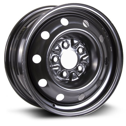 Steel Rim 15X6.5, 5X114.3, 71.5, +40, black finish (MULTI FITMENT APPLICATION) X99126N