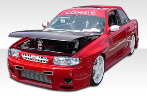 Body R33 2dr - 1991-1994 Nissan Sentra 2DR Duraflex R33 Body Kit - 4 Piece - Includes R33 Front Bumper Cover (102481) Drifter Rear Bumper Cover (101026) Drifter Side Skirts Rocker Panels (101022)