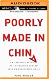 img - for Poorly Made in China: An Insider's Account of the Tactics Behind China's Production Game by Paul Midler (2014-09-16) book / textbook / text book