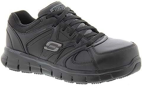 Skechers for Work Women's Synergy Sandlot Steel Toe Lace-Up Work Shoe
