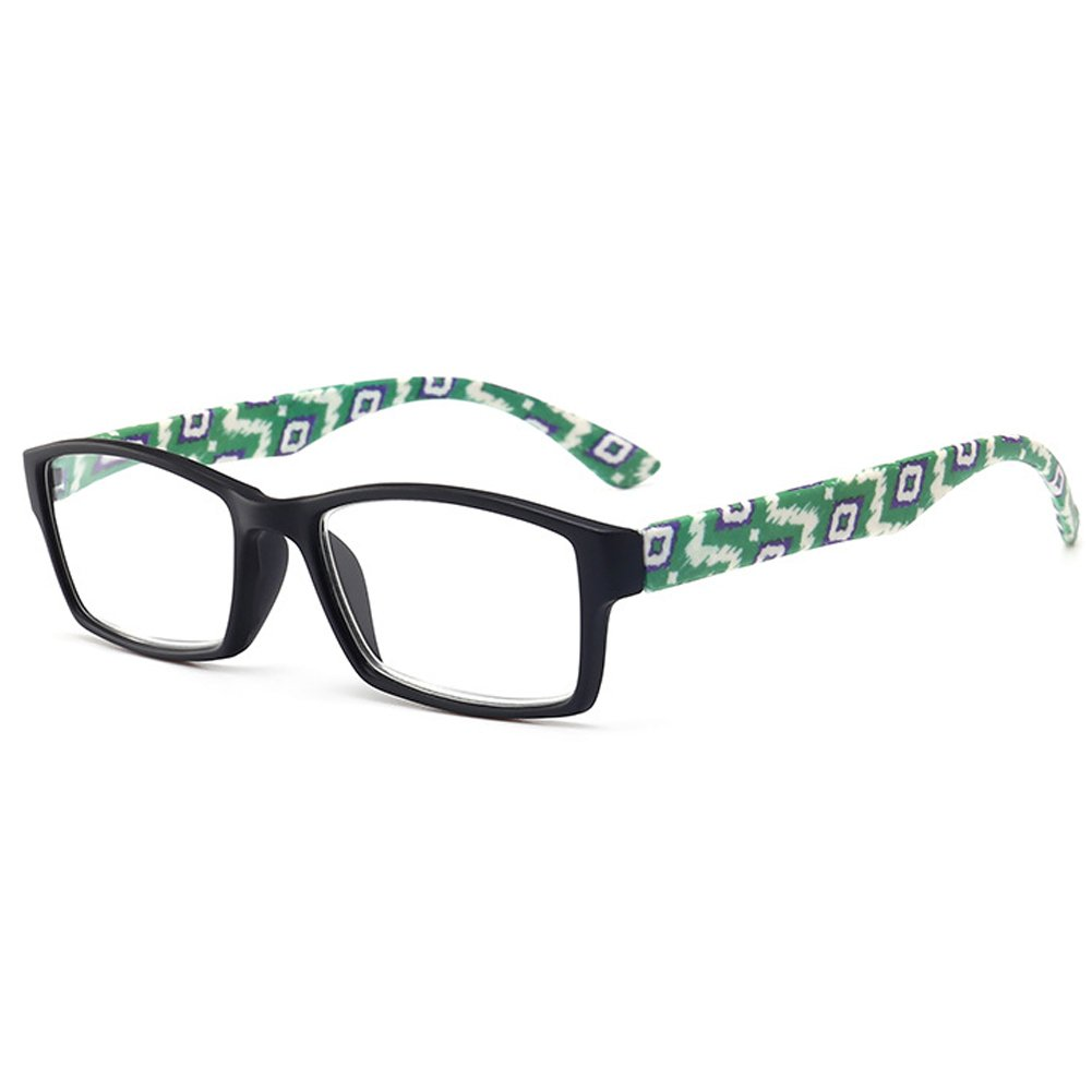 b76082d5d8 VEVESMUNDO Reading Glasses Women Men Modern Classic Floral Eyeglasses  Optical Readers Eyewear with Strength 1.0 1.5 2.0 2.5 3.0 3.5 4.0   Amazon.co.uk  ...