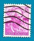 Used Italian Postage Stamp %281961%29 15