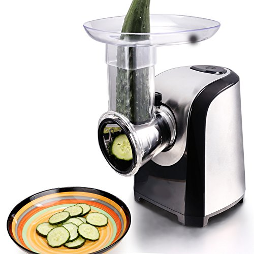 Electric food slicer machine for home use salad shredder slicer for slicing veggie carrot - Rape a legumes electrique ...