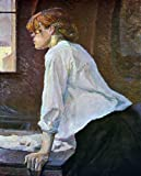 "20"" x 25"" Henri De Toulouse-Lautrec The Laundress premium canvas print reproduced to meet museum quality standards. Our Museum quality canvas prints are produced using high-precision print technology for a more accurate reproduction printed on high q..."