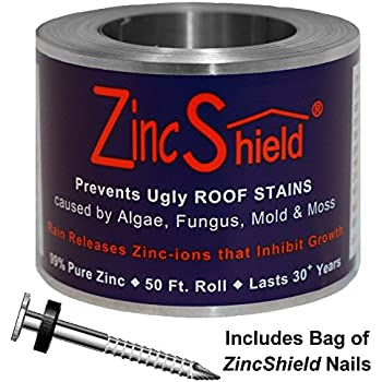 Amazon Com Zinc Armor 3 Quot Wide Zinc Strip 1 Roll Of 50
