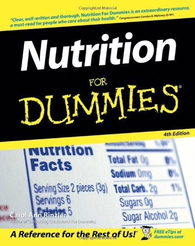 Nutrition For Dummies ebook