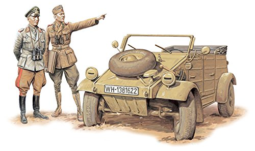 プラッツ 1/35 第二次世界大戦 ドイツアフリカ軍団 キューベルワーゲン プラモデル DR6364