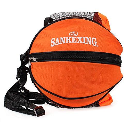 TaoMi- Bundle de lazo del bolso de hombro hombres y las mujeres del baloncesto ocasional Maleta de Mano ( Color : Azul oscuro ) Naranja
