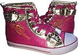 Apple Bottoms Kishia Hi Top Highrise Sneakers Shoes Size 7.5