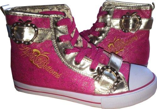 - Apple Bottoms Kishia Hi Top Highrise Sneakers Shoes Size 7.5 Fuchsia