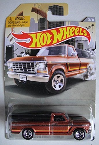 HOT WHEELS RAD TRUCKS '79 FORD PICKUP EXCLUSIVE DIE-CAST