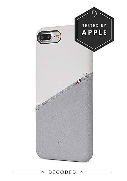 check out 371f4 6928a Decoded Leather Snap-On Back Cover Case for iPhone 7 Plus (White)