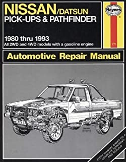 Nissan pick ups and pathfinder 1989 95 chilton total car care nissandatsun pick ups and pathfinder 1980 1993 haynes automotive manuals fandeluxe Gallery