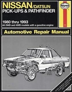 nissan datsun pickup 80 97 pathfinder 87 95 haynes repair rh amazon com 2001 Nissan Pathfinder Manual PDF 06 Nissan Pathfinder Repair Manual