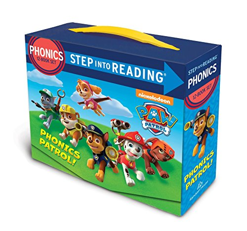 Paw Patrol Phonics Box Set (PAW Patrol) (Step into - Blends Short Vowel