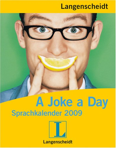 Langenscheidt Sprachkalender 2009 A Joke a Day - Kalender