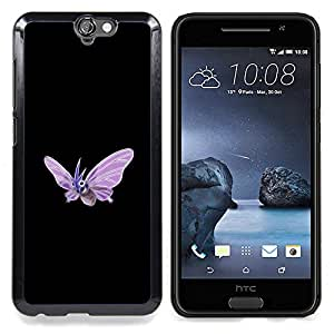For HTC ONE A9 - Venomoth P0Kemon /Modelo de la piel protectora de la cubierta del caso/ - Super Marley Shop -