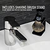 Shaving Brush with Stand - Rocky Mountain Barber