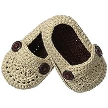 Jefferies Socks Baby-Boys Infant Baby Mocs Bootie, Khaki, Newborn