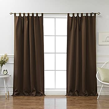top finel thermal insulated solid faux linen window treatments 85 blackout curtains. Black Bedroom Furniture Sets. Home Design Ideas