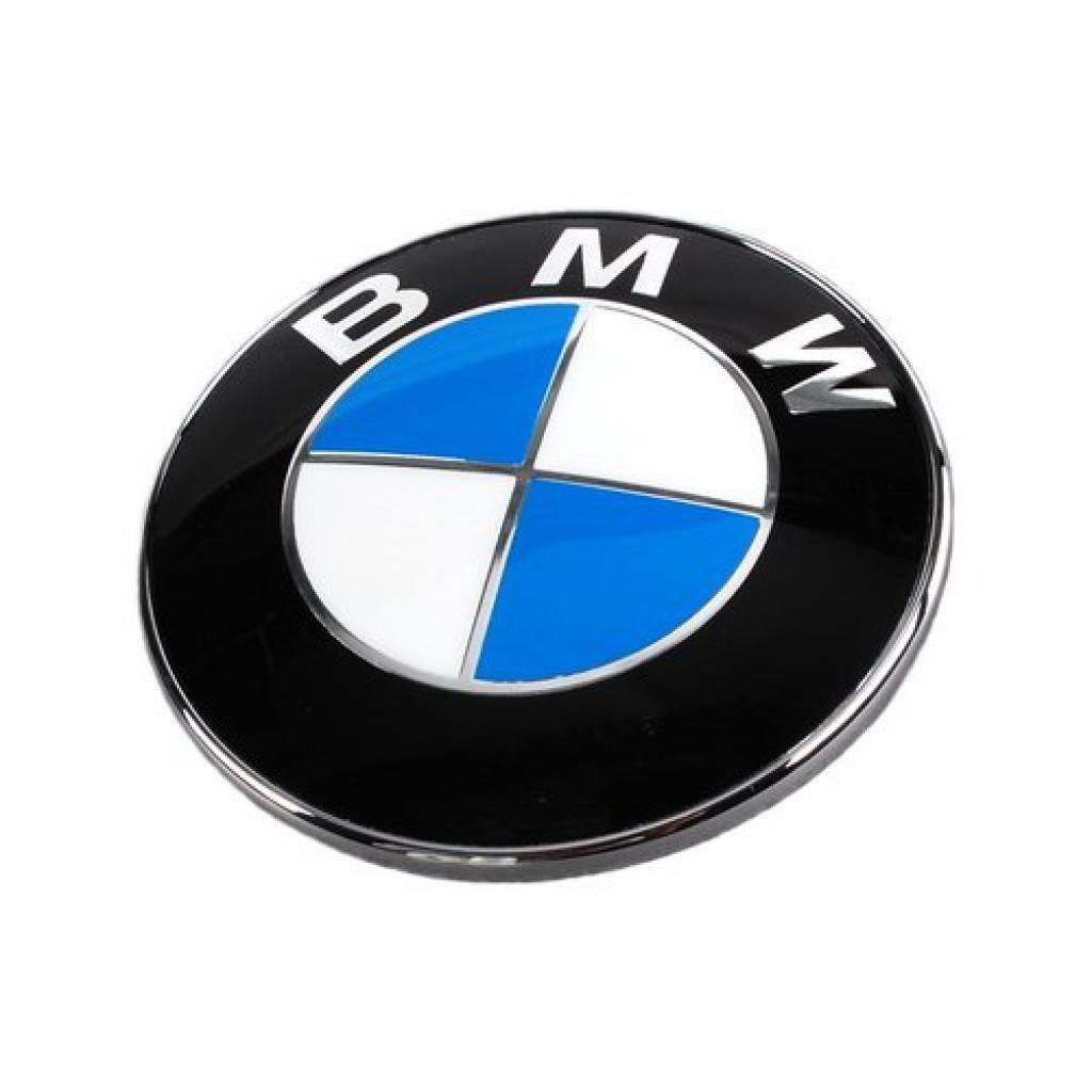 Insignia para maletero de BMW, emblema original, compatible con series 1, 3, 5, 6, 7, X, Z - 74 mm: Amazon.es: Coche y moto
