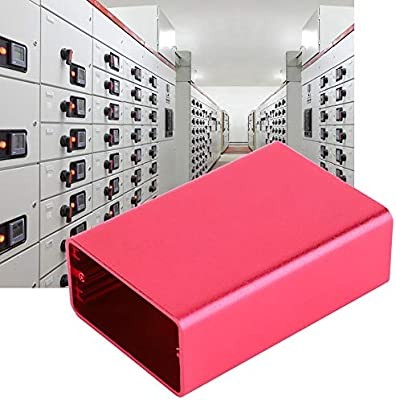 Naroote Caja de aluminio, Instrumento de placa de circuito impreso Caja de enfriamiento de aluminio Caja de gabinete de proyecto electrónico DIY: Amazon.es: Industria, empresas y ciencia