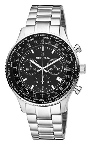 ORPHELIA Master Men's Silver Stainless steel watch-OR82703