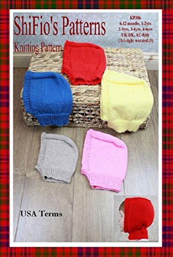 Amazon Knitting Pattern KP40 Childs Balaclava Knitting Best Balaclava Knitting Pattern
