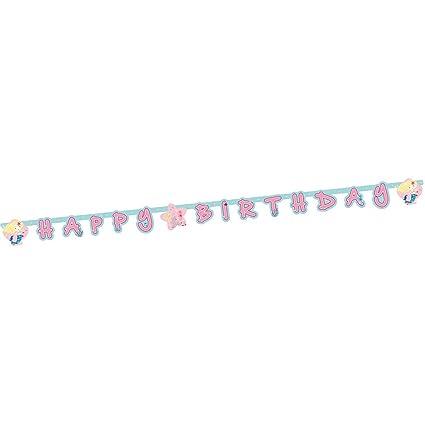 NET TOYS Adorable Guirnalda Happy Birthday Sirenita | 180 x ...