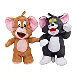 Galaxy world Cartoon Tom and Jerry stuffed Soft Toy for Kids, Babies and Childern (Set of 2)