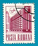 1971 Romania Used Postage Stamp (scott 2284) Ministry of Posts 6L