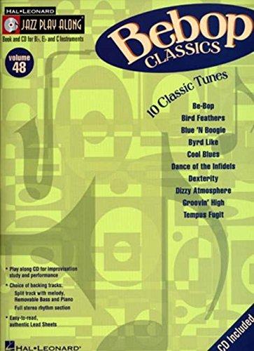 Bebop Classics: Jazz Play-Along Volume 48