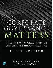 Corporate Governance Matters