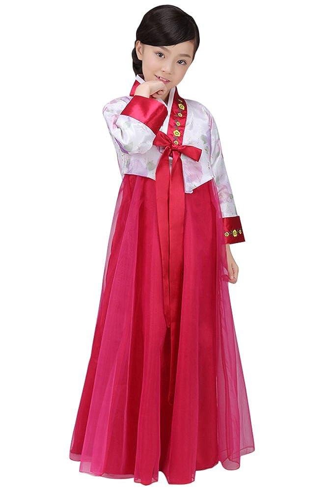 限定版 CRB ドレス衣装 CRB Fashion 女の子用 伝統的な韓国の子供用韓服衣装 ドレス衣装 White/Dark 110cm White/Dark Red B0781CXR3Q, みやざきけん:86b7a256 --- ultraculture.ru