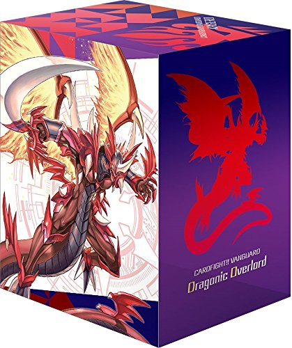 Cardfight Vanguard Dragonic Overlord Card Game Character Deck Box Case Holder Collection V2 Vol.413 Anime Art