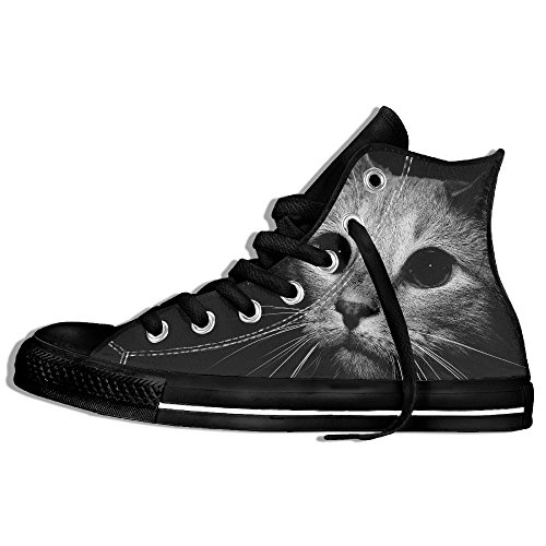 Cute Cat In Dark Night Sports Shoes For Men's Cool Shoes (Abc Family 13 Days Of Halloween)