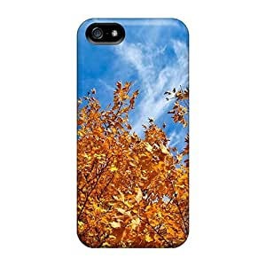 For Iphone Cases, High Quality Autumn Free Autumn Sky For Iphone 5/5s Covers Cases