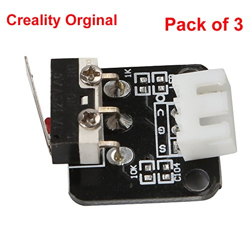 Creality 3D Printer Part Limit Switch With Separate Package CNC for RAMPS 1.4 RepRap 3D Printer CR-10 10S,S4 ,S5 (Pack of -