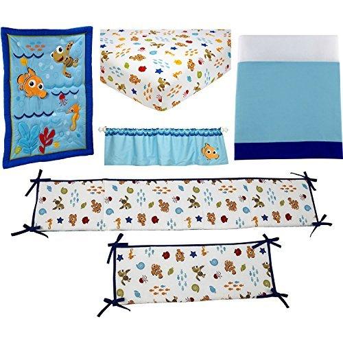 Disney Crib Bedding Sets (Nemo Wavy Days)
