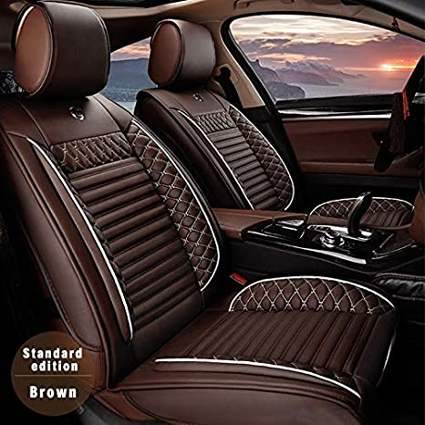 Amazing All Weather Custom Fit Seat Covers For Fiat 500C Abarth 500L 5 Seat Full Protection Waterproof Car Seat Covers Ultra Comfort Coffee Full Set Spiritservingveterans Wood Chair Design Ideas Spiritservingveteransorg