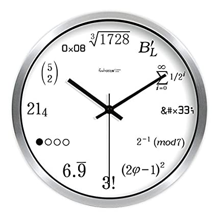 WERLM Diseño de personalidad a la decoración del hogar Reloj de pared Reloj de Arte Decoración