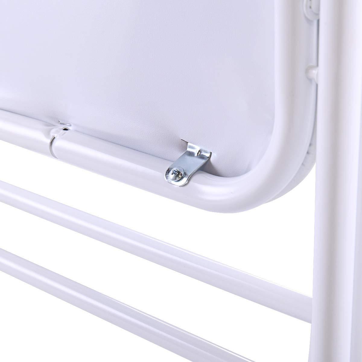Amazon.com: Tobbi - Silla de plástico plegable apilable para ...
