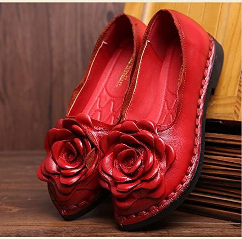 Shoes 41 couleur Rouge Qiusa Eu Rouge Taille pdZ0Wdxng