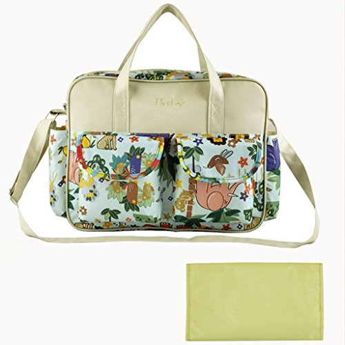 TOOGOO(R) borse impermeabili Diaper Bag Pannolino borsa multifunzionale per la mamma - motivo Animali