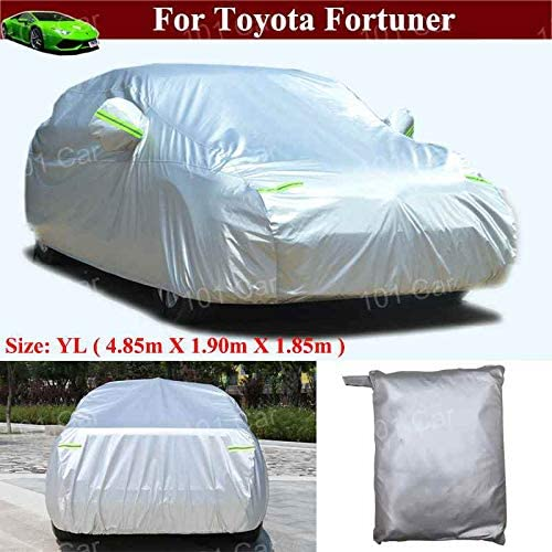 New Full Car Cover Car/SUV/Vehicle Cover Indoor/Outdoor Full Car Cover for Toyota Fortuner 2016 2017 2018 2019 2020 2021